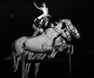 Dan Ramberg and Karen Abraham's Roman Riding Act